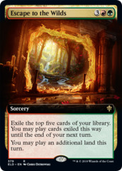 Escape to the Wilds - Foil - Extended Art