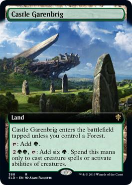 Castle Garenbrig - Extended Art