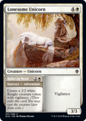 Lonesome Unicorn // Rider in Need - Foil
