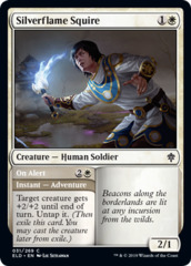 Silverflame Squire // On Alert