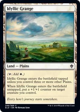 Idyllic Grange - Foil