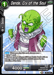 Dende, Cry of the Soul - DB1-083 - C