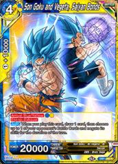 Son Goku and Vegeta, Saiyan Bonds - DB1-089 - R