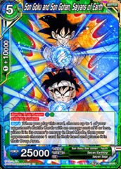 Son Goku and Son Gohan, Saiyans of Earth - DB1-091 - R