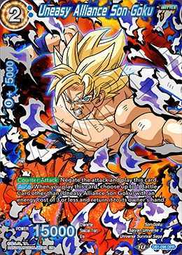 Uneasy Alliance Son Goku - DB1-096 - DPR