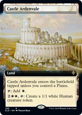 Castle Ardenvale - Foil - Extended Art