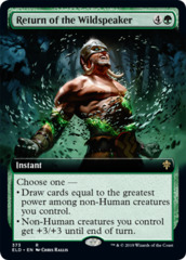 Return of the Wildspeaker (Extended Art)
