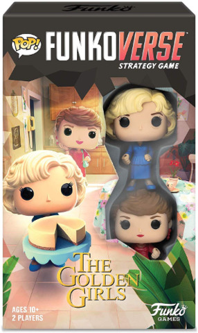 POP! Funkoverse Strategy Game Golden Girls 100 Expandalone