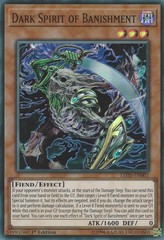 Dark Spirit of Banishment - LED5-EN002 - Super Rare - 1st Edition