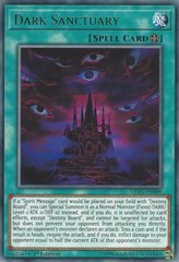 Dark Sanctuary - LED5-EN009 - Rare - 1st Edition on Channel Fireball