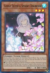 Ghost Sister & Spooky Dogwood (Alternate Art) - DUDE-EN005 - Ultra Rare - 1st Edition