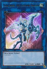Gaia Saber, the Lightning Shadow - DUDE-EN022 - Ultra Rare - 1st Edition
