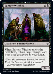 Barrow Witches - Foil on Channel Fireball
