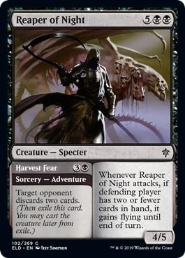 Reaper of Night // Harvest Fear