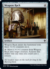 Weapon Rack - Foil