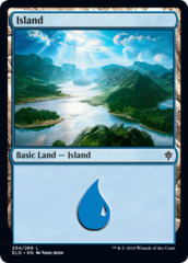 Island (254) - Foil (ELD)