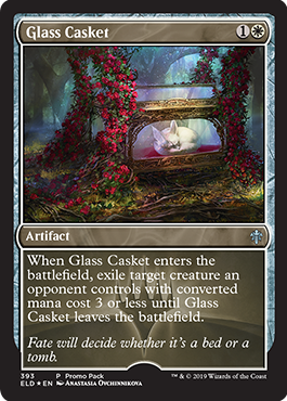 Glass Casket - Dark Frame Promo