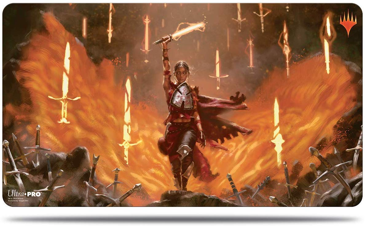 M302 - Ultra Pro - Throne of Eldraine - Play Mat - Irengrag Feat
