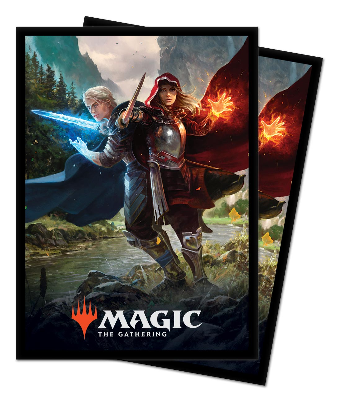 100 CT. Elspeth Ultra Pro Theros: Beyond Death Suns Nemesis Deck Protector Sleeves for Magic:The Gathering
