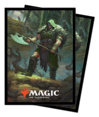 Ultra Pro Standard Deck Protector Sleeves Throne of Eldraine Garruk, Cursed Huntsman 100ct