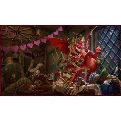 Dragon Shield Sleeves: Valentines Dragon 2020