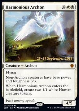 Harmonious Archon - Foil Prerelease Promo