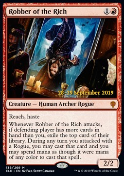 Robber of the Rich - Foil Prerelease Promo