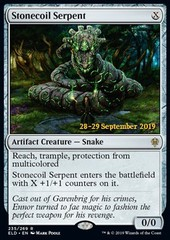 Stonecoil Serpent (ELD Prerelease Foil)