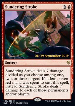 Sundering Stroke - ELD Prerelease - Foil