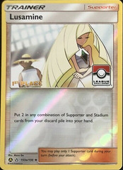Lusamine - 153a/156 - League Challenge Alternate Art Promo - 1st Place