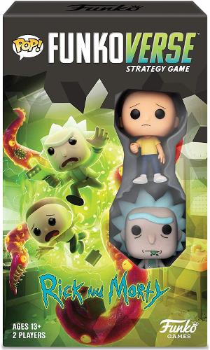 Pop! Funkoverse Strategy Game Rick & Morty 100 Expandalone