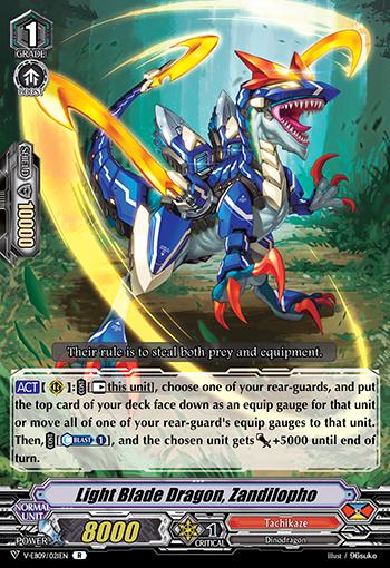 Light Blade Dragon, Zandilopho - V-EB09/021EN - R