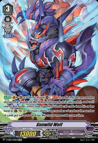 Gunwild Wolf - V-EB09/SP08EN - SP