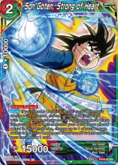 Son Goten, Strong of Heart - EX08-01 - EX - Foil