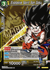 Explosive Spirit Son Goku - BT3-088 - PR