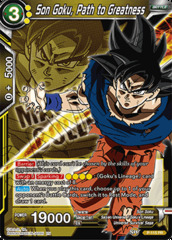 Son Goku, Path to Greatness - P-115 - PR