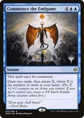 Commence the Endgame - Foil - Promo Pack