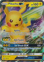 Pikachu GX - SM232 - Pikachu and Eevee Special Collection