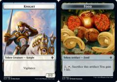 Knight Token // Food Token (016) - Foil