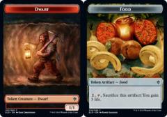 Dwarf Token // Food Token (016) - Foil