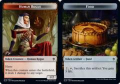 Human Rogue Token // Food Token (015) - Foil