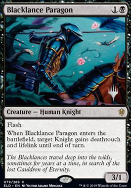 Blacklance Paragon - Foil - Promo Pack
