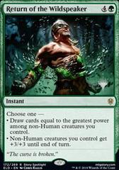 Return of the Wildspeaker - Foil - Promo Pack