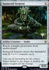 Stonecoil Serpent - Foil - Promo Pack