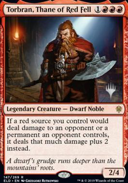 Torbran, Thane of Red Fell - Foil - Promo Pack