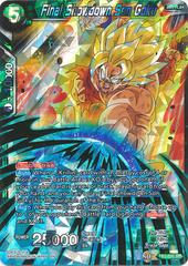 Final Showdown Son Goku - TB3-035 - SR - Shatterfoil