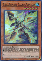 Gizmek Yata, the Gleaming Vanguard - CHIM-EN023 - Super Rare - 1st Edition