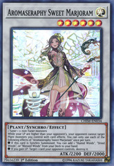 Aromaseraphy Sweet Marjoram - CHIM-EN034 - Super Rare - 1st Edition on Channel Fireball