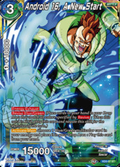 Android 16, A New Start - XD2-07 - ST - Foil