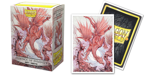 Dragon Shield Sleeves: Art Matte The God Hand - Essence of Insanity (Box of 100)